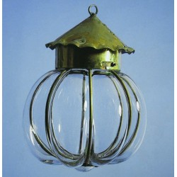 Norman Lantern - Blown glass artisan
