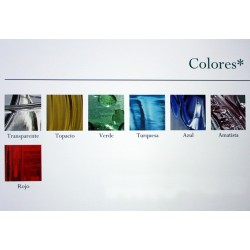Colors - Blown glass artisan