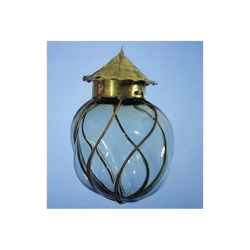 Mediterráneo Lantern - Blown glass artisan