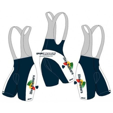 Official shorts Balearic Islands cycling team - Santini