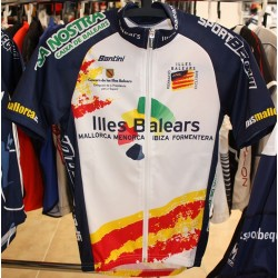 Official jersey of the Balearic Islands cycling team - Santini