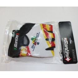 Official glove of the Balearic Islands cycling team - Santini