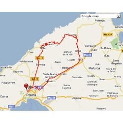 Téléchargement gratuit: GPS Route / GPX Llucmajor - Cyclisme Majorque