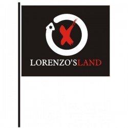 Flag Lorenzo's Land - Jorge Lorenzo