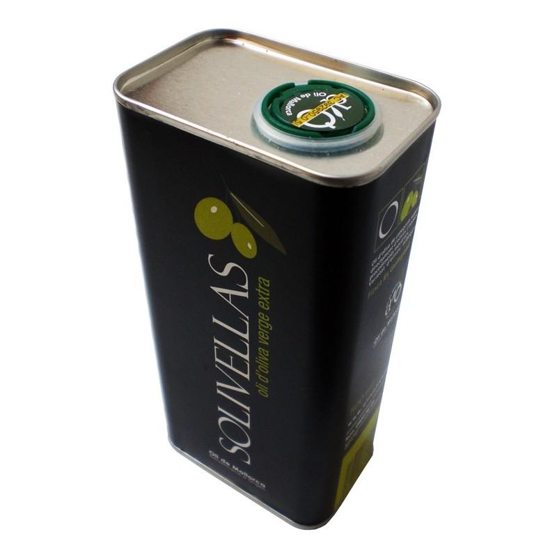 Olio extra vergine di oliva 500 ml Solivellas (6 unità)