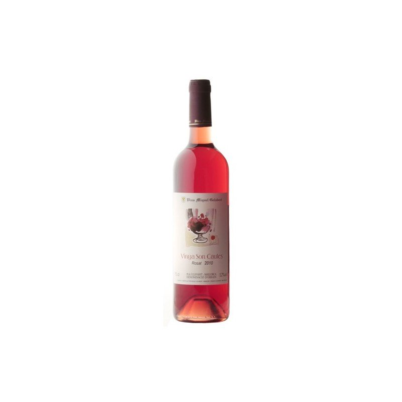 Viña Son Caules rosé wine 2010 - Vins Miquel Gelabert
