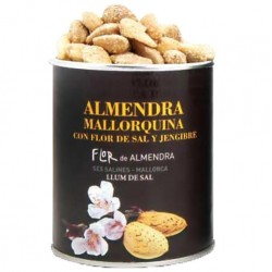 Mallorcanske mandel med Fleur de Sel og ingefær