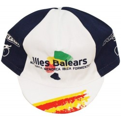Official cap of the Balearic Islands cycling team - Santini