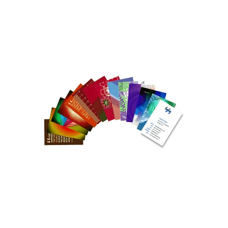 business cards full color