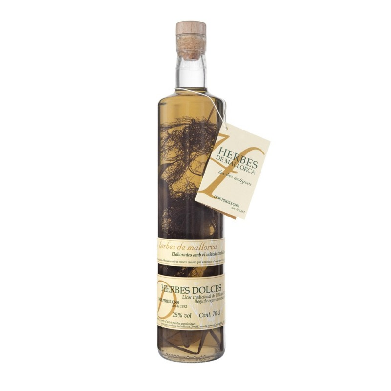 Liqueur d'herbes de Majorque