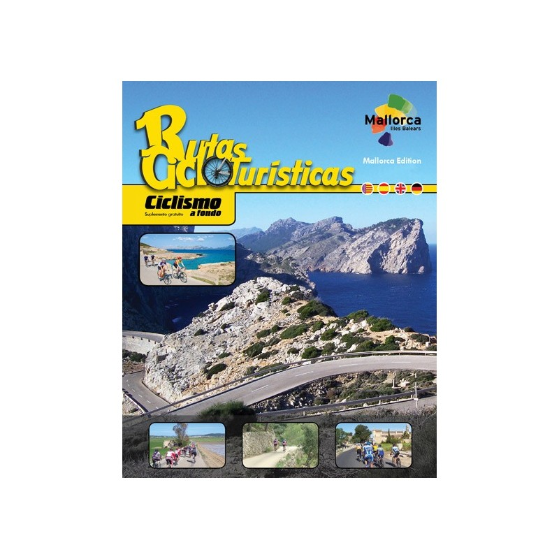 Ebook Cycling Routes of Mallorca