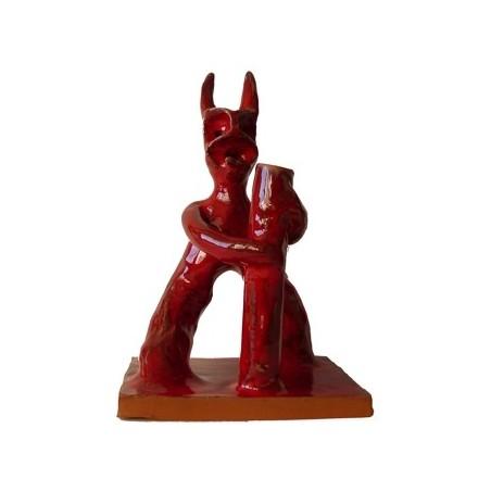 Mallorca Dämonen 'dimonis', Teufel - Keramikfiguren