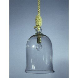 Korfu lanterne - håndlaget blåst glass