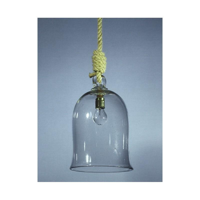 Corfu Lantern - Blown glass artisan