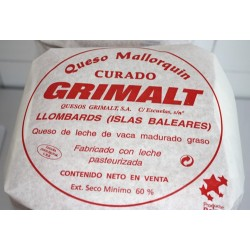 Mallorcan Cured cheese - Grimalt