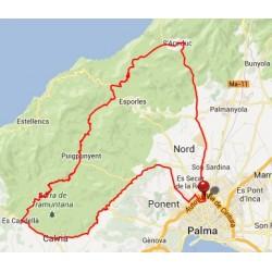 Route GPS / GPX Valldemossa - Mallorca Radfahren