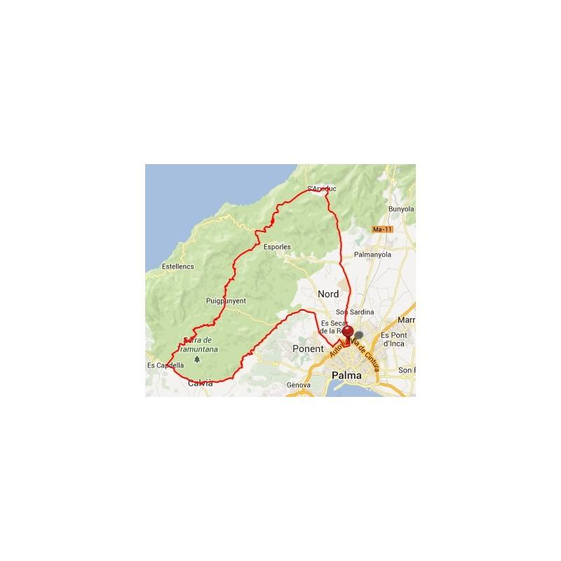 GPS / GPX Route Valldemossa - Cyclisme Majorque