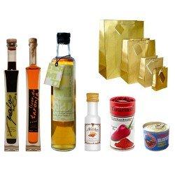 Auswahl der Produkte aus Mallorca - Weihnachten Baskets - Viele Weihnachten - Geschenke Unternehmen