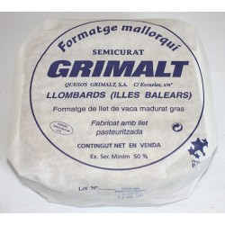 Mallorcan cheese Middle-cured - Grimalt