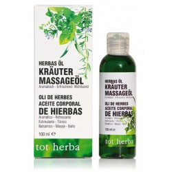 calendula oil, almonds oil, lavender, eucalyptus, rosemary, melisa, chamomile, herbs oil