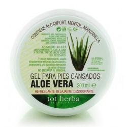 Gel para pies cansados de Aloe Vera Tot Herba