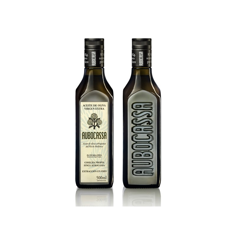 Oli d'oliva verge extra Aubocassa