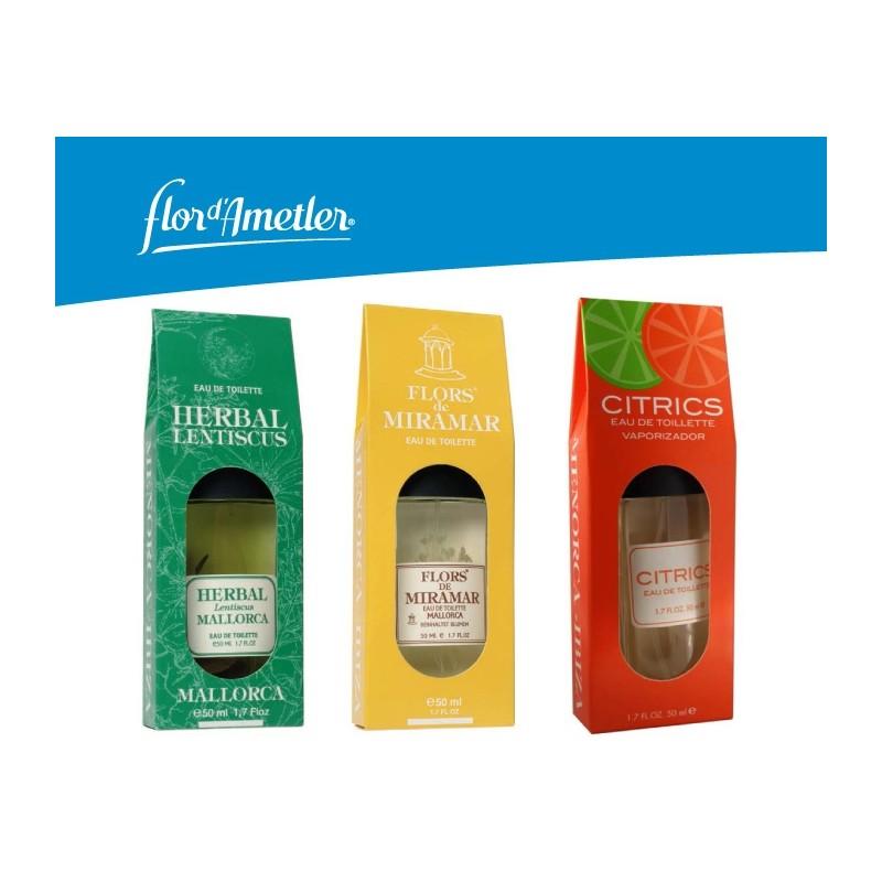Flor d'Ametler: Herbal / Miramar / Citrics / 4 Illes