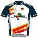 Officiella tröja av Balearerna Cycling Team - Santini