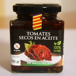 """Tomate """"Ramellet"""" de Majorque râpée / séchées avec huile"""
