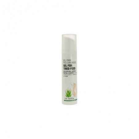 Gel for tired feet with Aloe Vera