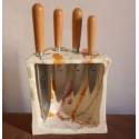 4 ganivets de cuina mallorquins - Ordinas