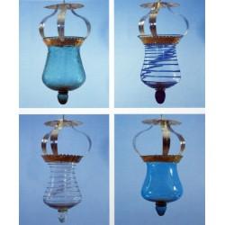 Mallorca Lantern - Blåst glas hantverkare