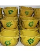 Murbruk - Traditionellt kök murbruk keramik